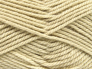 Bulky  Fiber Content 100% Acrylic, Brand ICE, Beige, Yarn Thickness 5 Bulky  Chunky, Craft, Rug, fnt2-55103