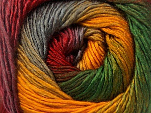 Fiber Content 50% Wool, 50% Acrylic, Yellow, Red, Brand ICE, Grey, Green, Yarn Thickness 2 Fine  Sport, Baby, fnt2-55463