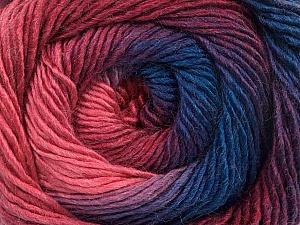 Fiber Content 50% Acrylic, 50% Wool, Purple, Pink Shades, Brand ICE, Blue, Yarn Thickness 2 Fine  Sport, Baby, fnt2-55561