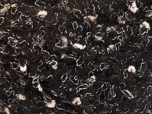 Fiber Content 26% Polyamide, 22% Acrylic, 18% Viscose, 17% Wool, 17% Alpaca, White, Brand ICE, Black, fnt2-55805