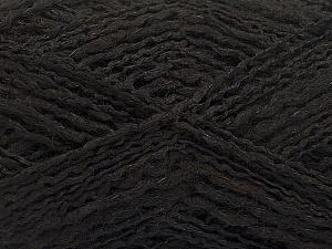 Fiber Content 44% Acrylic, 44% Wool, 12% Polyamide, Brand ICE, Black, Yarn Thickness 2 Fine  Sport, Baby, fnt2-56185
