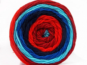 Fiber Content 100% Acrylic, Salmon, Brand ICE, Burgundy, Blue Shades, Yarn Thickness 4 Medium  Worsted, Afghan, Aran, fnt2-56555