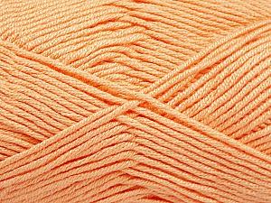 Fiber Content 50% Acrylic, 50% Bamboo, Light Salmon, Brand ICE, Yarn Thickness 2 Fine  Sport, Baby, fnt2-56579