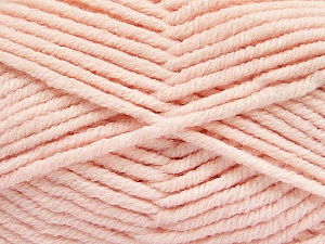 Fiber Content 80% Acrylic, 20% Polyamide, Brand ICE, Baby Pink, Yarn Thickness 5 Bulky  Chunky, Craft, Rug, fnt2-56584
