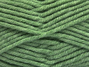 Fiber Content 80% Acrylic, 20% Polyamide, Mint Green, Brand ICE, Yarn Thickness 5 Bulky  Chunky, Craft, Rug, fnt2-56586
