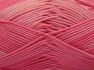 Fiber Content 100% Mercerised Cotton, Pink, Brand ICE, Yarn Thickness 2 Fine  Sport, Baby, fnt2-56599