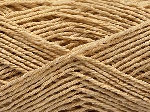 Fiber Content 100% Cotton, Brand ICE, Beige, Yarn Thickness 2 Fine  Sport, Baby, fnt2-57299