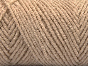 Items made with this yarn are machine washable & dryable. Fiber Content 100% Acrylic, Brand ICE, Beige, Yarn Thickness 4 Medium  Worsted, Afghan, Aran, fnt2-57411