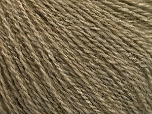 Fiber Content 65% Merino Wool, 35% Silk, Khaki, Brand ICE, Yarn Thickness 1 SuperFine  Sock, Fingering, Baby, fnt2-57856