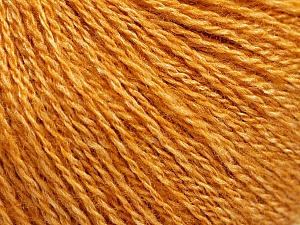 Fiber Content 65% Merino Wool, 35% Silk, Brand ICE, Gold, Yarn Thickness 1 SuperFine  Sock, Fingering, Baby, fnt2-57857