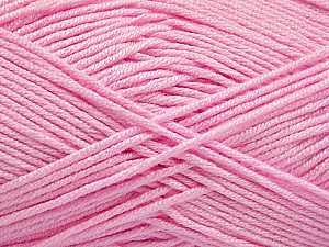 Fiber Content 50% Acrylic, 50% Bamboo, Pink, Brand ICE, Yarn Thickness 2 Fine  Sport, Baby, fnt2-57959