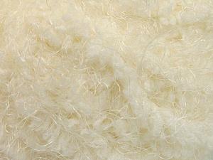 Fiber Content 100% Polyamide, Brand ICE, Cream, Yarn Thickness 6 SuperBulky  Bulky, Roving, fnt2-58113