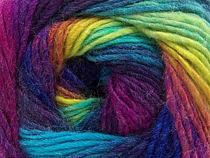 Fiber Content 70% Acrylic, 30% Wool, Vivid Colors, Brand ICE, Yarn Thickness 3 Light  DK, Light, Worsted, fnt2-58147
