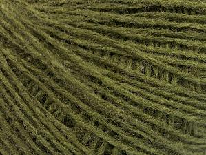 Fiber Content 50% Acrylic, 50% Wool, Brand ICE, Dark Green, Yarn Thickness 2 Fine  Sport, Baby, fnt2-58298