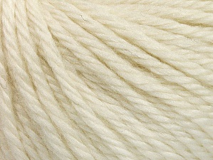 Fiber Content 60% Acrylic, 40% Wool, Brand Ice Yarns, Cream, Yarn Thickness 6 SuperBulky  Bulky, Roving, fnt2-58565