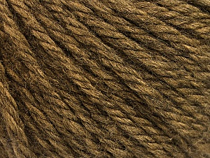 Fiber Content 60% Acrylic, 40% Wool, Brand Ice Yarns, Camel, Yarn Thickness 6 SuperBulky  Bulky, Roving, fnt2-58568