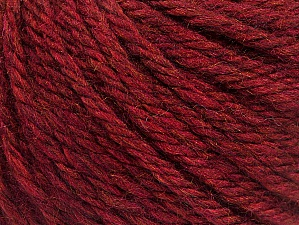 Fiber Content 60% Acrylic, 40% Wool, Brand Ice Yarns, Burgundy, Yarn Thickness 6 SuperBulky  Bulky, Roving, fnt2-58571