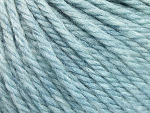 Fiber Content 60% Acrylic, 40% Wool, Brand Ice Yarns, Baby Blue, Yarn Thickness 6 SuperBulky  Bulky, Roving, fnt2-58573