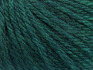 Fiber Content 60% Acrylic, 40% Wool, Teal Melange, Brand Ice Yarns, Yarn Thickness 6 SuperBulky  Bulky, Roving, fnt2-58575