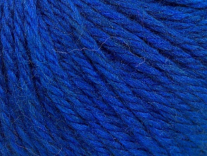 Fiber Content 60% Acrylic, 40% Wool, Brand Ice Yarns, Blue, Yarn Thickness 6 SuperBulky  Bulky, Roving, fnt2-58577