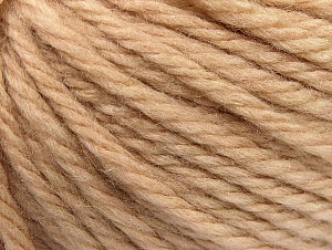 Fiber Content 60% Acrylic, 40% Wool, Brand ICE, Cafe Latte, Yarn Thickness 6 SuperBulky  Bulky, Roving, fnt2-58683