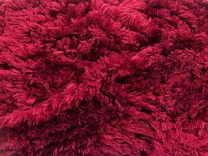 Fiber Content 100% Micro Fiber, Brand ICE, Burgundy, Yarn Thickness 6 SuperBulky  Bulky, Roving, fnt2-58819