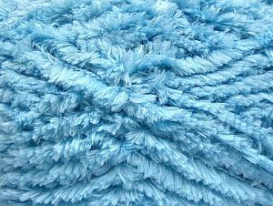 Fiber Content 100% Micro Fiber, Brand ICE, Baby Blue, Yarn Thickness 6 SuperBulky  Bulky, Roving, fnt2-58823