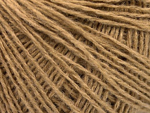 Fiber Content 50% Acrylic, 50% Wool, Brand ICE, Cafe Latte, Yarn Thickness 2 Fine  Sport, Baby, fnt2-58866