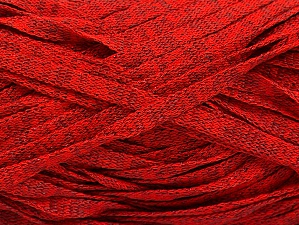 Fiber Content 82% Viscose, 18% Polyester, Red Melange, Brand ICE, Yarn Thickness 5 Bulky  Chunky, Craft, Rug, fnt2-58905