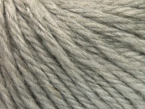 Fiber Content 60% Acrylic, 40% Wool, Light Grey, Brand ICE, Yarn Thickness 6 SuperBulky  Bulky, Roving, fnt2-58989