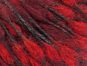 Fiber Content 50% Wool, 50% Polyamide, Red, Maroon, Brand ICE, fnt2-59050