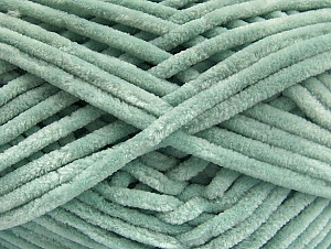 Fiber Content 100% Micro Fiber, Light Mint Green, Brand ICE, Yarn Thickness 4 Medium  Worsted, Afghan, Aran, fnt2-59063
