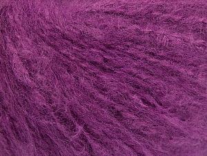 Fiber Content 70% Acrylic, 20% Mohair, 10% Wool, Lavender, Brand ICE, Yarn Thickness 3 Light  DK, Light, Worsted, fnt2-59083