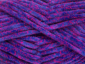 Fiber Content 75% Micro Fiber, 25% Acrylic, Purple, Neon Pink, Brand ICE, Yarn Thickness 4 Medium  Worsted, Afghan, Aran, fnt2-59326
