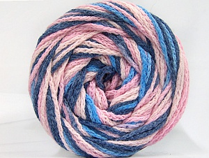 Fiber Content 50% Acrylic, 50% Polyamide, Pink Shades, Brand ICE, Blue Shades, Yarn Thickness 5 Bulky  Chunky, Craft, Rug, fnt2-59348