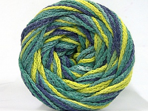 Fiber Content 50% Acrylic, 50% Polyamide, Jeans Blue, Brand ICE, Green Shades, Yarn Thickness 5 Bulky  Chunky, Craft, Rug, fnt2-59353