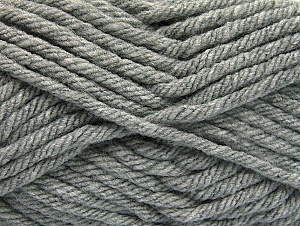 Fiber Content 100% Acrylic, Brand ICE, Grey, Yarn Thickness 6 SuperBulky  Bulky, Roving, fnt2-59732