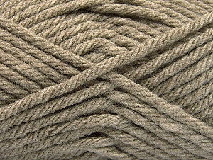 Fiber Content 100% Acrylic, Brand ICE, Camel, Yarn Thickness 6 SuperBulky  Bulky, Roving, fnt2-59734