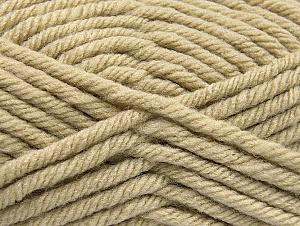 Fiber Content 100% Acrylic, Brand ICE, Beige, Yarn Thickness 6 SuperBulky  Bulky, Roving, fnt2-59790