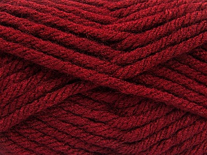 Fiber Content 100% Acrylic, Brand ICE, Dark Burgundy, Yarn Thickness 6 SuperBulky  Bulky, Roving, fnt2-59795