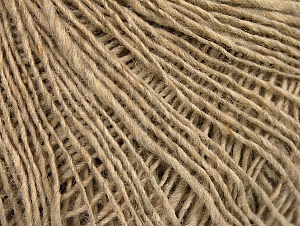 Fiber Content 40% Wool, 30% Alpaca, 30% Polyamide, Brand ICE, Beige Melange, fnt2-59831