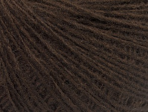 Fiber Content 50% Wool, 50% Acrylic, Brand ICE, Coffee Brown, Yarn Thickness 2 Fine  Sport, Baby, fnt2-60013