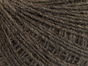 Fiber Content 50% Wool, 50% Acrylic, Brand ICE, Dark Camel, Yarn Thickness 2 Fine  Sport, Baby, fnt2-60015