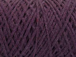 Fiber Content 100% Cotton, Purple, Brand ICE, Yarn Thickness 4 Medium  Worsted, Afghan, Aran, fnt2-60150