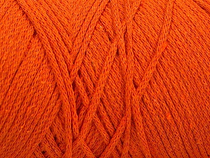 Fiber Content 100% Cotton, Orange, Brand ICE, Yarn Thickness 4 Medium  Worsted, Afghan, Aran, fnt2-60155