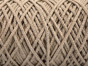 Fiber Content 100% Cotton, Brand ICE, Beige, Yarn Thickness 5 Bulky  Chunky, Craft, Rug, fnt2-60163