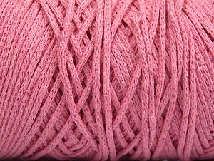 Fiber Content 100% Cotton, Brand ICE, Baby Pink, Yarn Thickness 5 Bulky  Chunky, Craft, Rug, fnt2-60171
