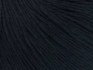 Fiber Content 100% Cotton, Brand ICE, Dark Navy, Yarn Thickness 1 SuperFine  Sock, Fingering, Baby, fnt2-60434