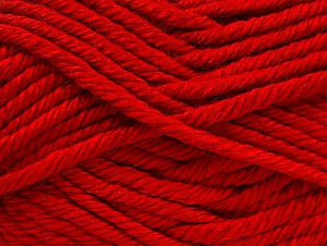 Fiber Content 100% Acrylic, Red, Brand ICE, Yarn Thickness 6 SuperBulky  Bulky, Roving, fnt2-60450