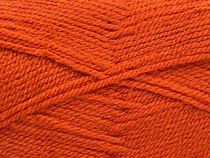 Fiber Content 100% Acrylic, Orange, Brand ICE, Yarn Thickness 3 Light  DK, Light, Worsted, fnt2-60853